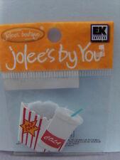 NEW JOLEE'S EK SUCCESS DIMENSIONAL EMBELLISHMENTS POPCORN SODA  JJEA017A 1823