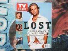 TV GUIDE (USA). JOSH HOLLOWAY. LOST COVER. OCTOBER 2006. RARE.