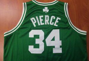 Adidas NBA Boston Celtics Basketball Paul Pierce Stitched On Court Jersey 2XL
