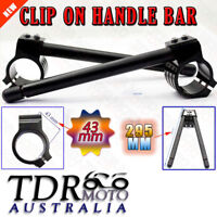 43mm CNC Fork Clip-On Handlebar for Honda CBR1100XX Super Blackbird 1997-2002