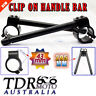 43 mm CNC Clip Ons Handlebar For Honda CBR1100XX Super Blackbird CBR600 F4 F4i