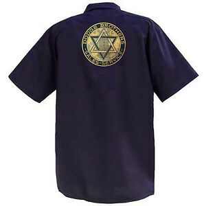 Dodge Brothers Sales And Service - Mechanics Graphic Work Shirt  Short Sleeve