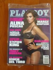 Playboy November 2009 Marge Simpson and Alina Puscau Magazine Stand Packaging