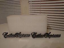 78 79 80 81 82 83 84 85 86 87 88 Cutlass Supreme Name Plate Emblem Insignia Trim