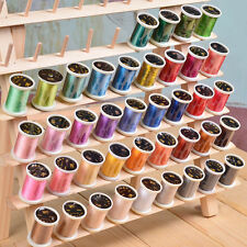 40 Spools Sewing Overlock Embroidery Thread Knitting for Brother Machine