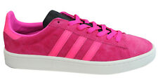 Adidas Originals Campus Mens Trainers Lace Up Shoes Leather Pink BB0081 M17