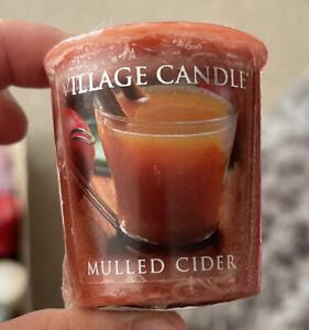 Village Candle Mulled Cider Votive Candle 49g New