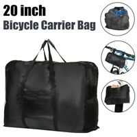 20inch Folding Bike Bicycle Carrier Bag Carry Transport Travel Bag Pouch Case US