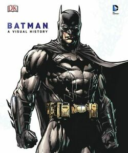 Batman: Year By Year A Visual History Hardcover Book 75 Years DC Comics NEW