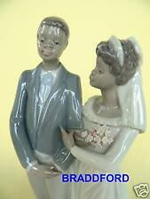Lladro 5835 Wedding Couple * I Do *Mint *