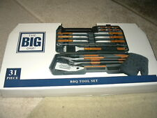 new The Big One 31 piece Deluxe BBQ Tools Set tool