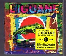 CD (NEUF) COMPILATION  L'IGUANE DE SAINT BARTHELEMY