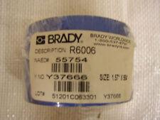 """BRADY PRINTER RIBBON R6006 1.57"""" X 984'"""