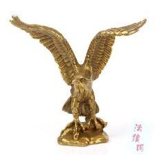 Belle laiton voler statue d'aigle 11x7x12 cmStatue