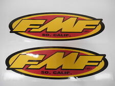 FMF RACING MOTOCROSS OFFROAD RIDING STICKERS DECALS GRAPHICS WINDOW DIRTBIKE FMX