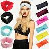 Women Cotton Turban Twist Head Knot Headband Wrap Twisted Knotted Hair Band/New