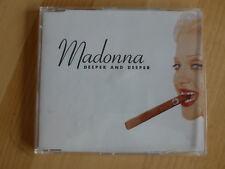 Madonna --- DEEPER AND DEEPER --- MAXI CD