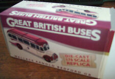 Atlas Great British Buses. Wallace Arnold Bedford Die Cast Replica. 1:76 Scale.