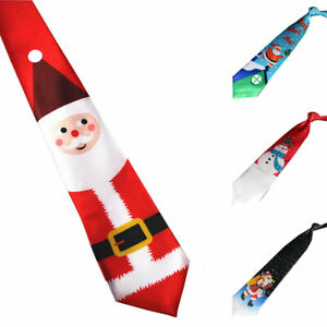 NEW Mens Christmas Musical Red Tie Novelty Gift Office Staff Party / Dinner