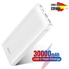 Baseus Batería Externa 30000mAh Power Bank Cargador Móvil Portátil Carga rápida