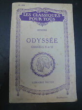 Homère - Odyssée - 1942