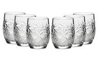 Set of 6 Russian Cut Crystal Shot Glasses 1.7 oz - Vintage Vodka Glassware USSR