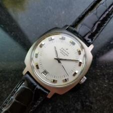ZENITH 28800 Automatic w/ Date c.1960s Rare Mens Swiss Vintage Watch LV492