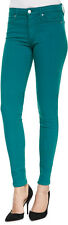NWT Joe's Flawless Mid Rise Skinny Colored Stretch Jean in Teal - Size 26