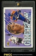 1992 Upper Deck Hockey Wayne Gretzky /2800 AUTO #18, JSA Auth, COA