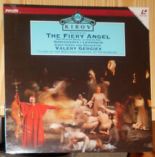 LASERDISC PROKOFIEV THE FIERY ANGEL VALERY GERGIEV KIROV (PAL) VERSIEGELT SEALED