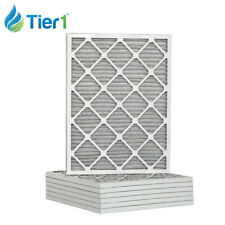 Tier1 16-3/8x21-1/2x1 Dust and Pollen Merv 8 Replacement Furnace Filter 6 Pack