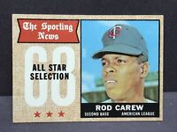 1968 Topps Rod Carew All Star #363 NM Minnesota Twins HOF