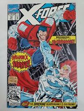 X-FORCE #10 (1992) MARVEL COMICS WEAPON X vs STRYFE! 3RD APPEARANCE OF DEADPOOL!