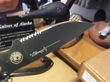 KNIVES OF ALASKA XTREME SERIES MODEL V Skeletonized FIXED BLADE KNIFE WITH WRAP