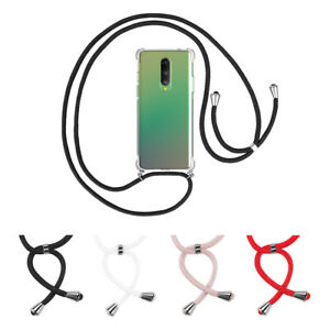 Cover With Chain Oneplus 8 1+ 8 TPU Silicone Reinforced Anti-shock +Cord