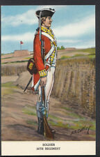 Military Postcard - Soldier of The 26th Regiment   RS4172