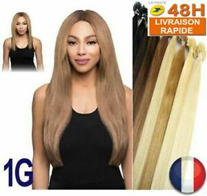 25 50 75 125 Extension Hair Installation Hot 100% Natural Remy Hair 49-60CM 1G