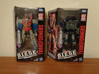 TRANSFORMERS GENERATIONS WAR FOR CYBERTRON SIEGE Starscream & Soundwave IN-HAND!