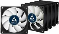 5 x Value Pack of Arctic F8 80mm 2000RPM, High Performance PC 3 Pin Case Fans