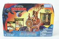 How To Train Your Dragon Battle & Collapse Catapult includes Hiccup NEW