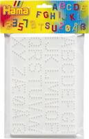 2 Stiftplatten Buchstaben/Zahlen im Beutel, 1Set