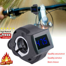 Digital LED Voltmeter Voltage Display Gauges Meter for All Bike Electric Scooter
