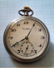 Cortebert pocket watch cal 534 RARE, running, mint dial
