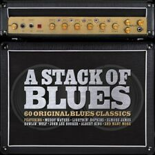 A Stack Of Blues - 60 Original Blues Classics 3CD NEW/SEALED