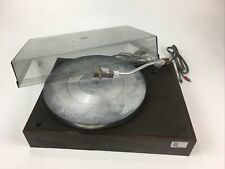 Vintage Acoustic Research AR XA turntable with dust cover - no cart, no belt
