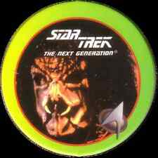 STAR TREK THE NEXT GENERATION, NAUSICAAN, STARTDISC POG MILK CAP, # 30
