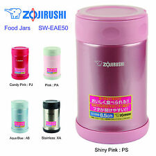 Zojirushi SW-EAE50-PS Stainless Steel Food Jar 500ml / 0.5L - Shiny Pink