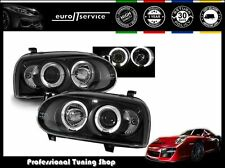 FARI ANTERIORI HEADLIGHTS LPVW04 VW GOLF 3 1991-1994 1995 1996 1997 ANGEL EYES