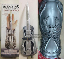 Assassin's Creed Cosplay Brotherhood Ezio Hidden Blade Gauntlet Vambrace Knife