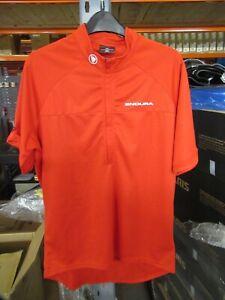 Endura Xtract Short Sleeve Cycling Jersey II - L - Red - ExDisplay